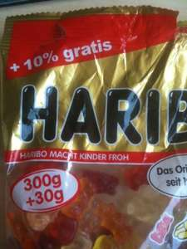 [Aldi-Süd] - Haribo Goldbären 300g + 10% = 330g für 0,89€