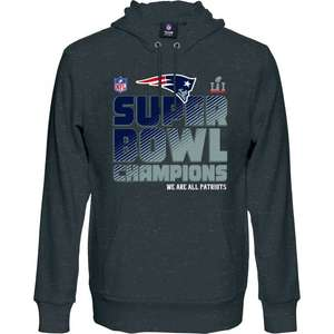 New England Patriots Super Bowl 51 Champions Hoodie & T-Shirt