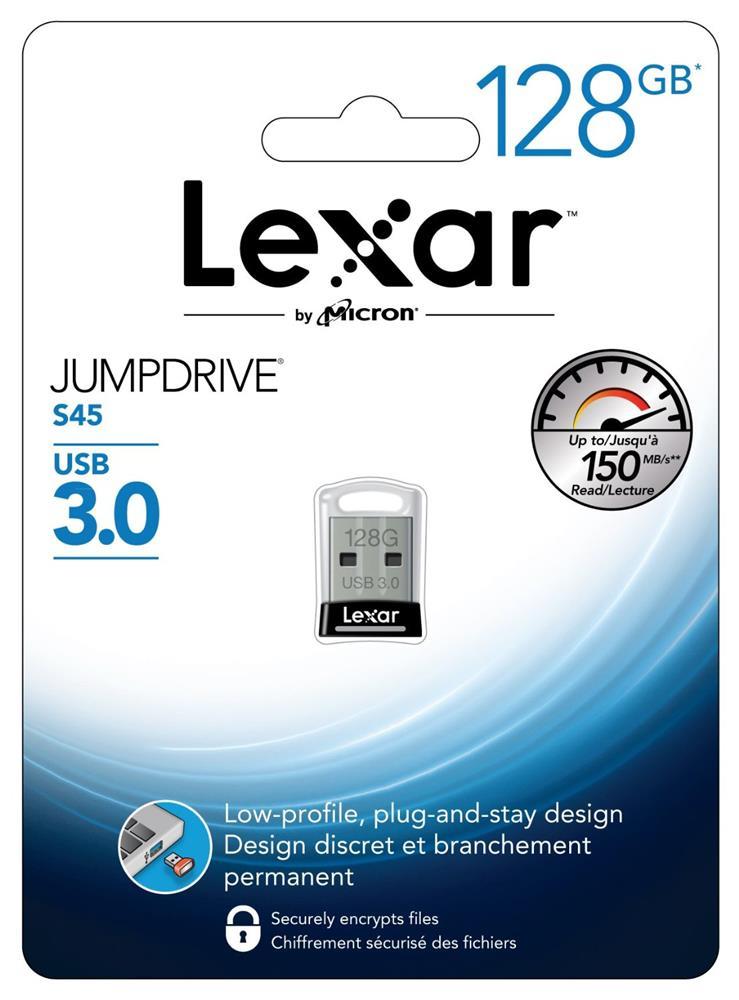 Lexar JumpDrive USB 3.0 128GB S45 Speicherstick @25,99 Euro inkl. Versand (okluge.de)