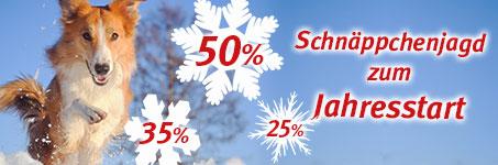 15% auf alles ab 69€ mit Gutscheincode 06Rewe-15 zooroyal.de