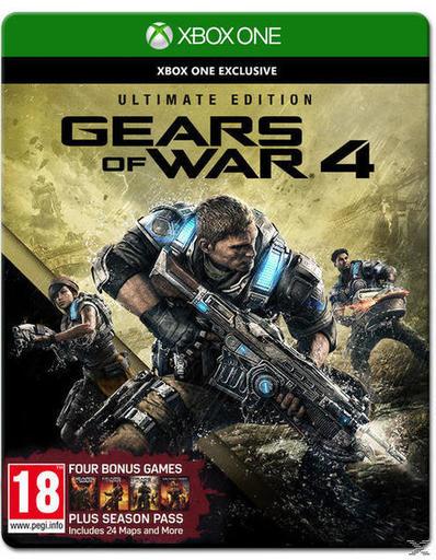 Gears of War 4 Ultimate Edition (inkl. Season Pass) für 41,59 € inkl. Versand nach DE - statt PVG 67,95 €