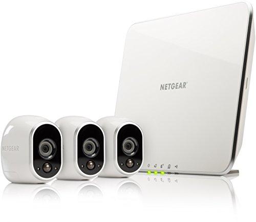 Netgear Arlo VMS3330-100EUS für 349€ @ Cyberport - Überwachungssystem mit 3 kabellosen Kameras *UPDATE*
