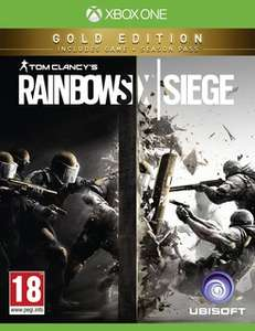 [HD Gameshop] Tom Clancy's Rainbow Six Siege - Gold Edition - [Xbox One] - [AT Pegi]-Komplett Deutsch für 25,99€ inc. Versand