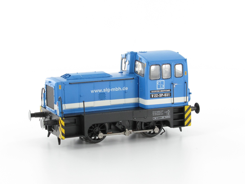 Modellbahn Brawa Best.-Nr. 42610 Diesellok Rangierlok V 22 Spitzke Logistik H0 DC bei DM Toys