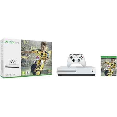 [Redcoon] Microsoft Xbox One S 500 GB Konsole inkl. Fifa 17