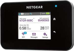 Netgear AirCard 810 Mobile Hotspot für 181,24€ @ Amazon.it - LTE Cat. 11 MIFI mit WLAN-ac
