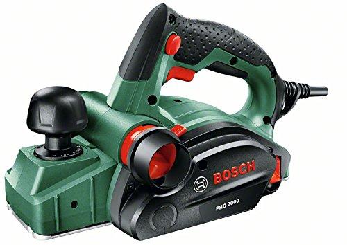[Amazon-Blitzangebot] Bosch DIY Handhobel PHO 2000, Hobelmesser, Karton (680 W, Hobelbreite 82 mm, Spantiefe 0 – 2,0 mm, Falztiefe 0 – 8 mm) für 69,99 €