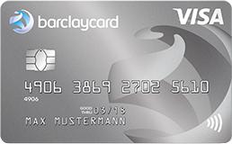 Barclaycard New Visa: beitragsfreie Kreditkarte mit 70€ Startguthaben