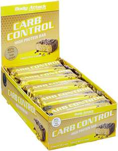 Body Attack Carb Control Protein Riegel Banana Nuts 15 x 100 g PVG 35€