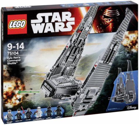 Lego Star Wars - Kylo Ren's Command Shuttle (75104) für 85,98€