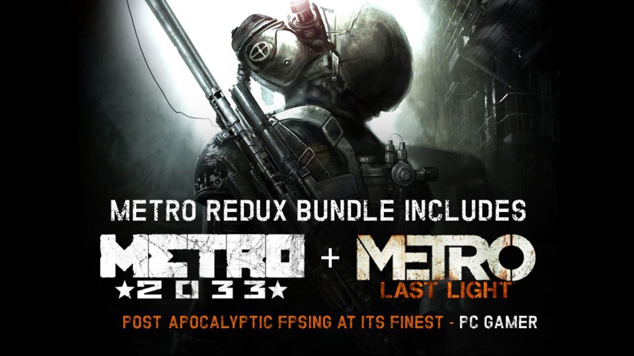 Metro Redux Bundle für 5,99€ [Bundle Stars] [Steam]