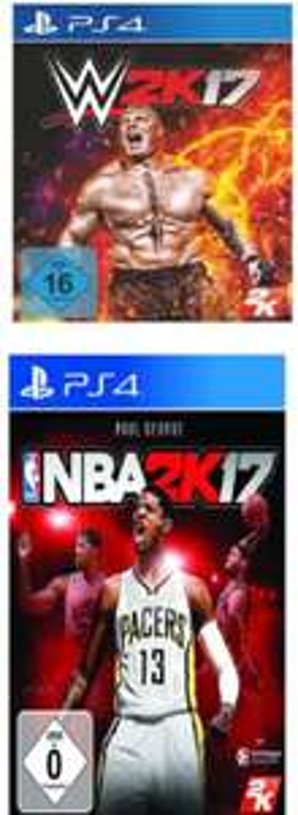 [Mediamarkt GDD] WWWE 2K17 [PlayStation 4) und NBA 2K17 [PlayStation 4) für je? 28,-€