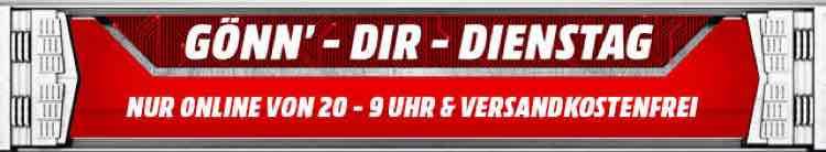 """Die Media Markt """"Gönn dir Dienstag"""" Angebote mit Filmen, Dokus und Konsolengames"""