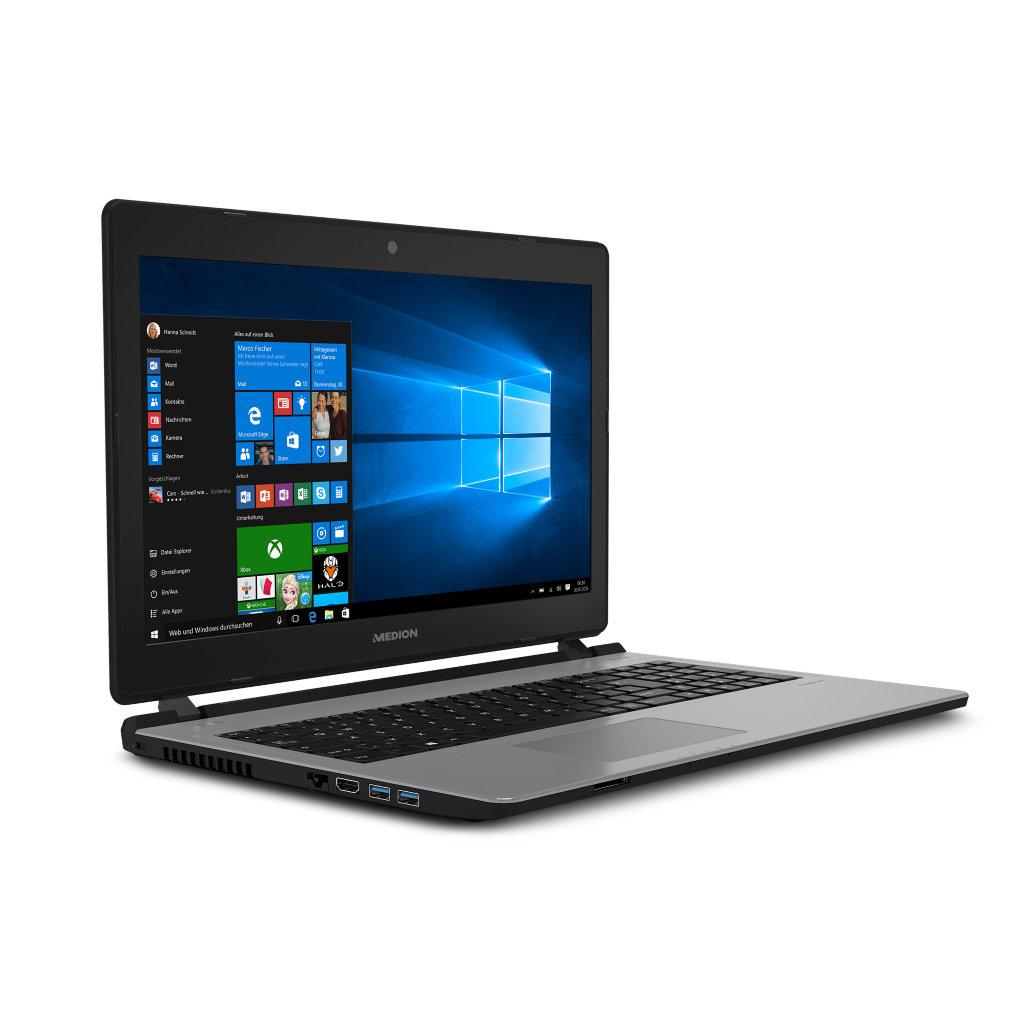 "[Medion] AKOYA E6429 MD 60104 Notebook 39,6cm/15,6"" Intel 2,1GHz 500GB 8GB Win 10 +  Virtual Reality Headset MEDION® X83008 (MD 87623)"