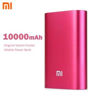 Xiaomi 10000mAh Power Bank Pocket für 13,03€ / 11,58€ bei [Gearbest]