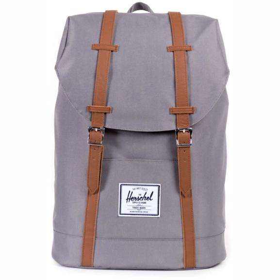 Herschel Retreat Backpack in grau für 53,92€ inkl. Versand bei Vaola