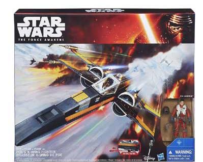 Spielwaren-Ausverkauf bei [Intertoys] z.B. Hasbro Star Wars Poe Damerons X-Wing Fighter für 29,98€ vsk-frei statt ca. 40€ + Beispiele im Deal