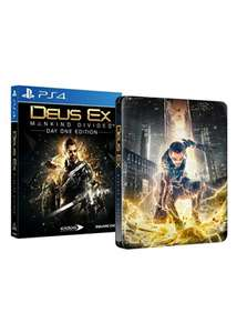 Deus Ex: Mankind Divided – Day One Edition inkl. Steelbook (PS4) für 18,92€ inkl. VSK (Base.com)