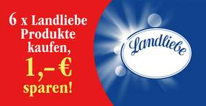 [k&k] Landliebe Fruchtjoghurt 0,71 Euro/500g Glas (Ersparnis 49%)