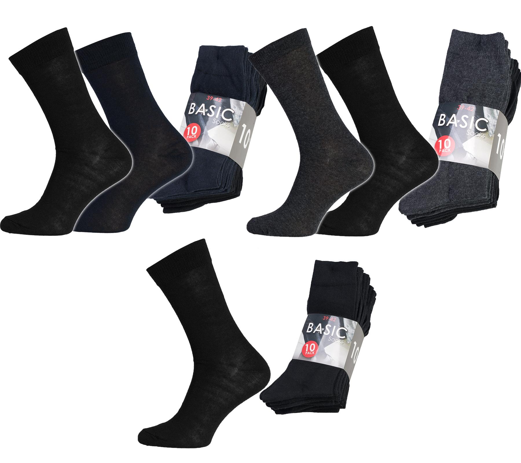 Business-Socken Herren (10er Pack) für 4,99€ inkl. Versand