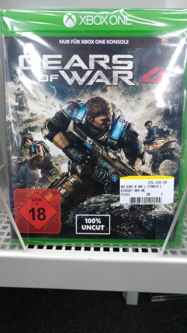 Jetzt offiziell Mediamarkt Berlin Fallout 4 xbox one 17€, Doom UAE Pack xbox one 17€, Gear of War 4 xbox one 25€, Metal Gear Solid 5 Ground Zero+Phantom Pain xbox one 19€, plus weitere Spiele im MM Berlin Schöneweide