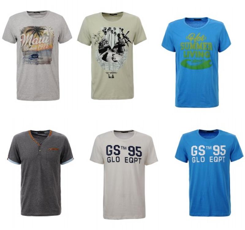 [@outlet46]  Glo-Story Herren T-Shirts in verschiedenen Modellen