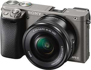 [amazon Prime] Sony alpha 6000 mit 16-50 Objektiv in graphit-grau 549€ statt idealo 590€