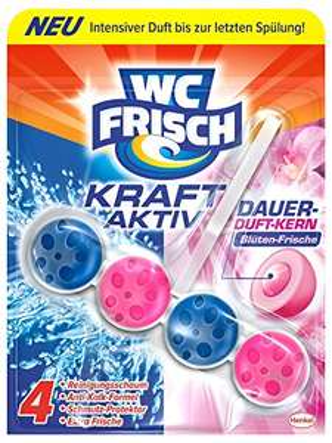 [Amazon Sparabo] WC Frisch Kraft-Aktiv Duftspüler Blüten-Frische Paket, 10er Pack (10 x 50 g) für 6,60€