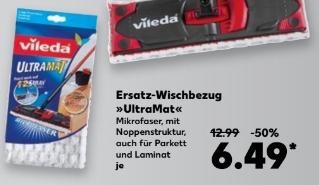 Vileda Ultramat Ersatzbezug für 6,49 € @ Kaufland bundesweit ab 09.02.