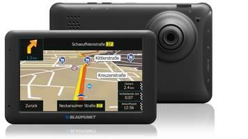 Blaupunkt TravelPilot 53 CAM EU AMW für 105,94€@ Amazon - PKW-Navi mit schwenkbarer Dashcam