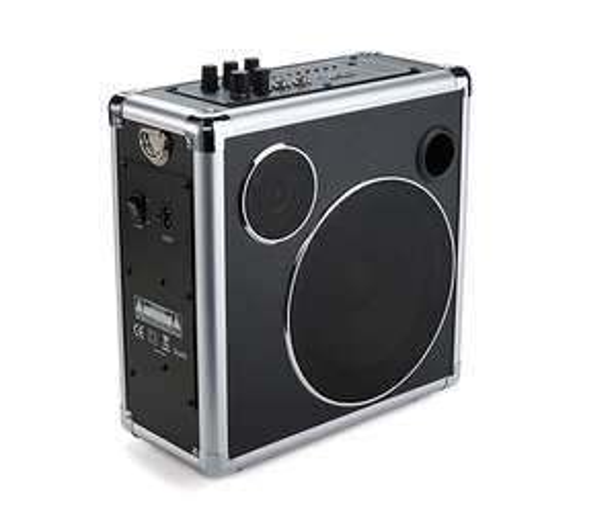 [Tchibo] Mobiles Bluetooth-Soundsystem, Ausgangsleistung 30 W, Inkl. Akku (12 V, 2,6 Ah) und Netzkabel + 8% shoop