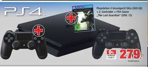 Lokal PS4 slim 500 GB + 2. Controller + The Last Guardian