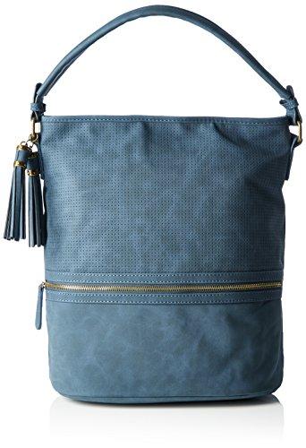 (Valentinstagdeal) Marco Tozzi Damen Henkeltasche in Blau, Braun oder Schwarz, 33x35x20 cm ab 14,98 € @ amazon Prime