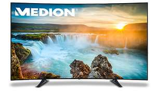 "MEDION LIFE X18095 (MD 31150) für 3499€ @Medion - 78"" Curved UHD Smart-TV mit DVB-T2"