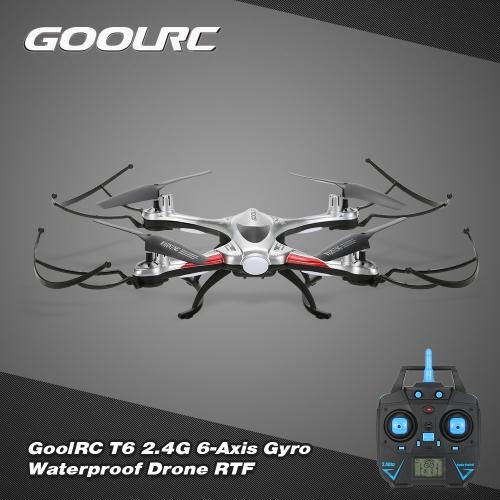 JJRC H31 bzw.  GoolRC T6 Waterproof 2.4G 4CH 6-Axis Gyro Drone mit Headless Mode One Key Return RC Quadcopter RTF für 22,07 € statt 33,42 €
