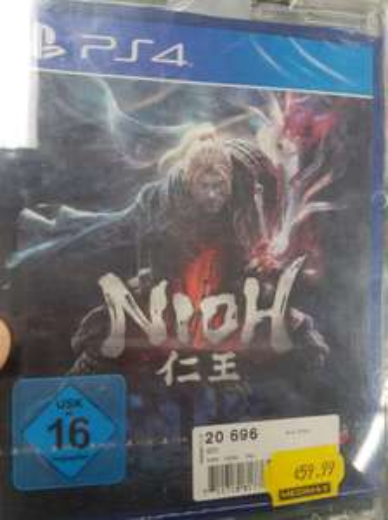 PS4 NIOH (Lokal MEDIMAX Mh a. d. Ruhr)