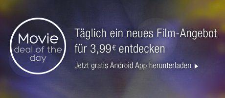 [Android] täglich 1 Kauffilm (HD) für 3,99€ entdecken [Amazon Video]