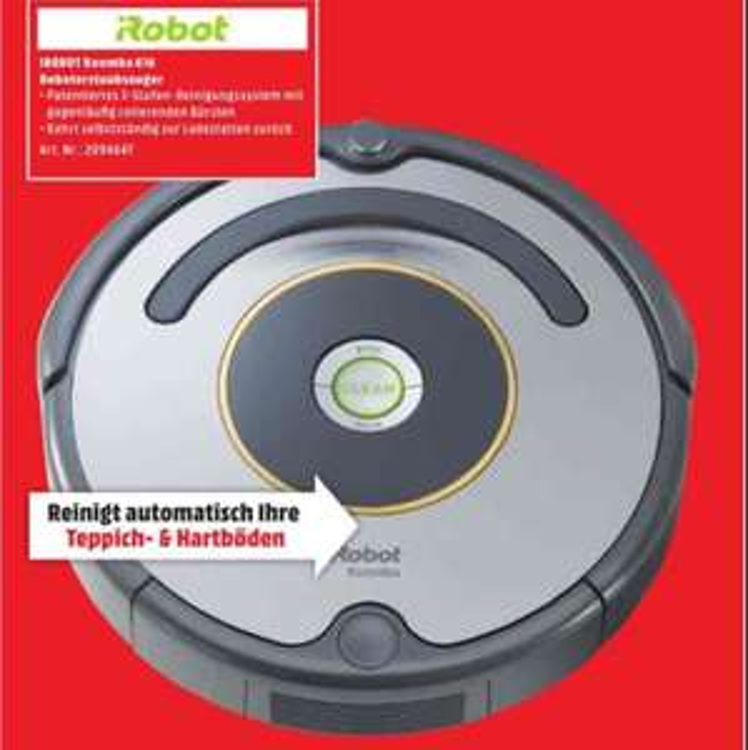 iRobot Roomba 616 - Roboter Staubsauger (Media Markt München) Lokal