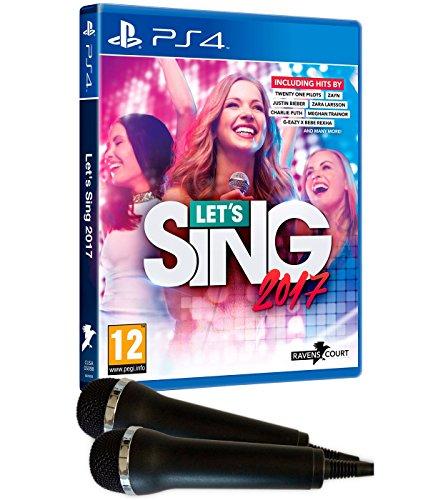 Let's Sing 2017 + 2 Mikrofone (PS4) für 18,78€ (Amazon.es)