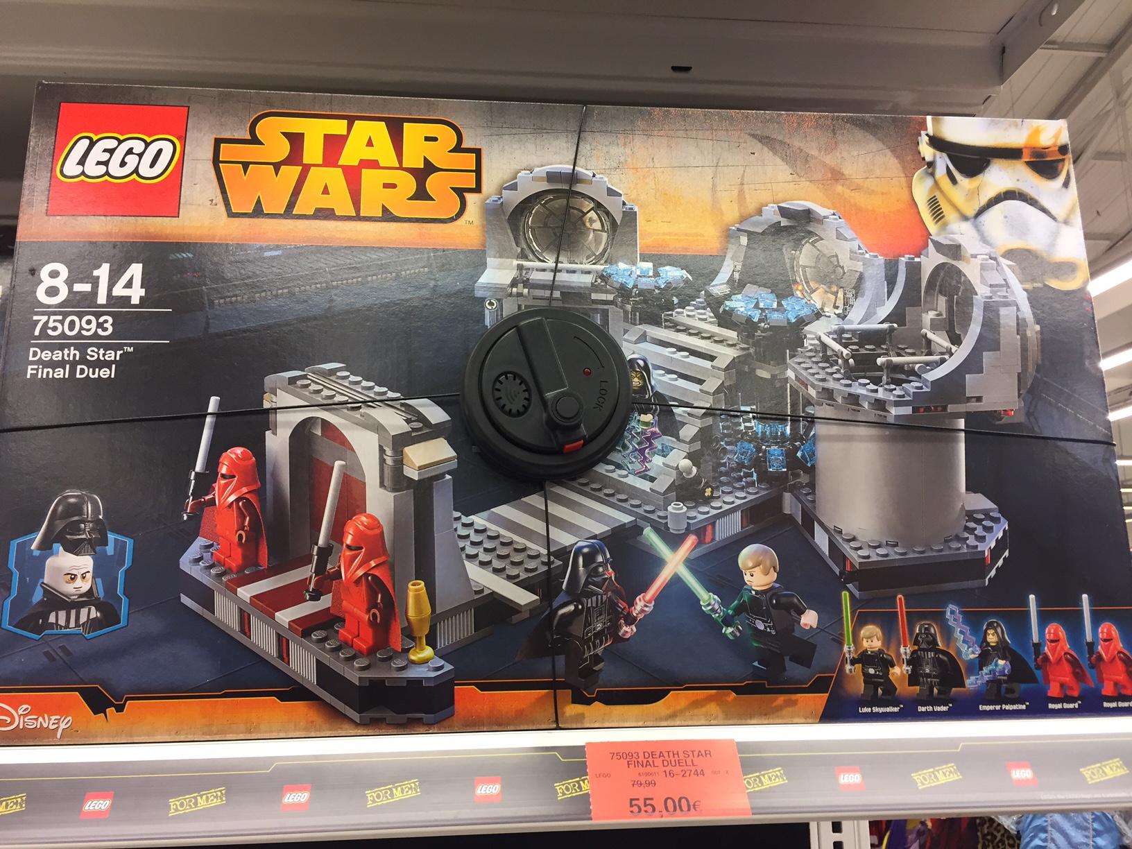 [lokal?] [ToysRus Kaiserslautern] LEGO 75093 Death Star Final Duel 55€ (vgl. 89,99€!)