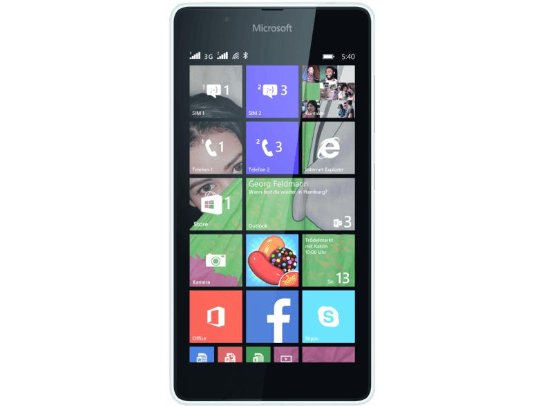 MICROSOFT Lumia 540, Smartphone, 8 GB, 5 Zoll, Weiß [Saturn]