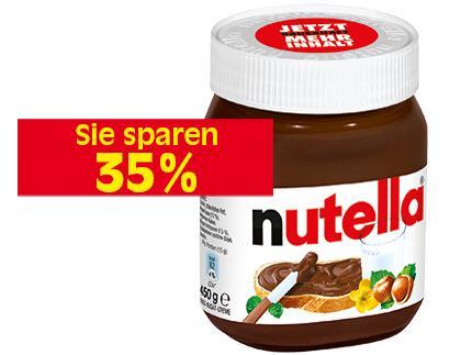 Nutella 450g bei Reichelt (Berlin) für 1,49 €