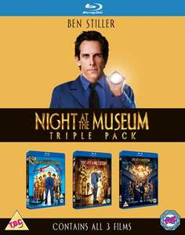 Nachts im Museum 1-3 (Blu-ray) für 11,79€ (Zavvi)
