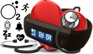 BerryKing Lifepulse plus Fitness Aktivitätstracker Bluetooth 4.0 Schritte Schlaf Herzfrequenz Blutdruck Sauerstoff Atemfrequenz Kalorien