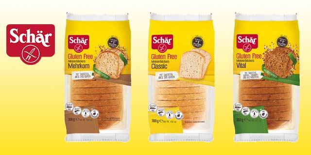 Schär Meisterbäckers Brot GRATIS durch einreichen bei Coupies
