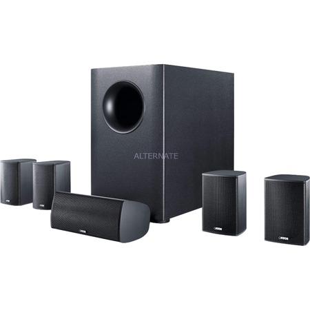 """Canton 5.1 Surround Sound System plus aktiven Subwoofer /Heimkinosystem/  """"Movie 1005.2"""" in Weiß und Schwarz (Zackzack Angebot)"""