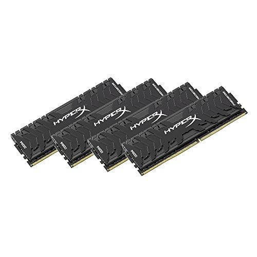 [Amazon] Kingston HyperX Predator 16GB Kit (4x4GB DDR4), 3200MHz, CL16 DIMM, Black