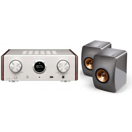 MARANTZ Hd Amp1 Verstärker & Kef LS50 Lautsprecher (paar)