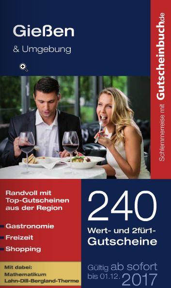 Gutscheinbuch.de - bis zu 50% Rabatt, Versandkostenfrei,  ab 10.99€
