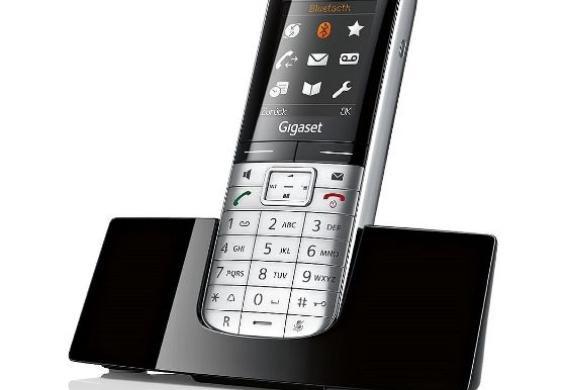 [Dealclub] Gigaset SL400 Dect-Schnurlostelefon, extrem flach und klein,metall /schwarz, Bluetooth + 3% shoop